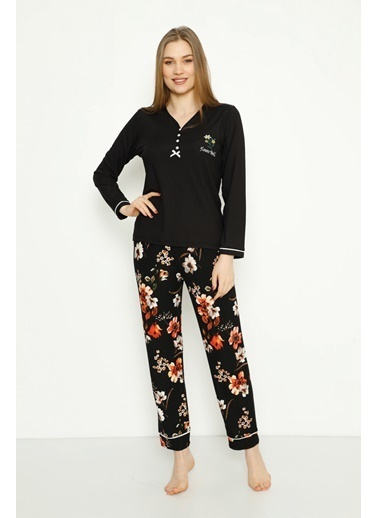 Estiva Pijama Takım Siyah